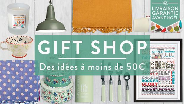 Gift Shop à moins de 50 euros