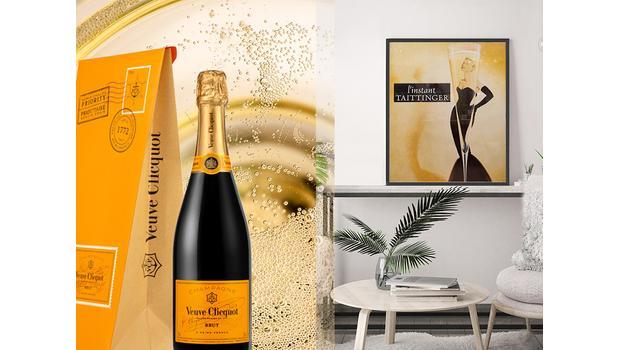 Pour les fans de champagne