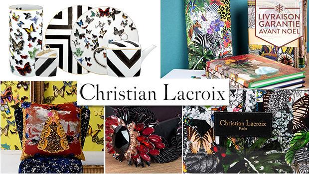 christian lacroix, maroquinerie, gift, montre, accessoires, table