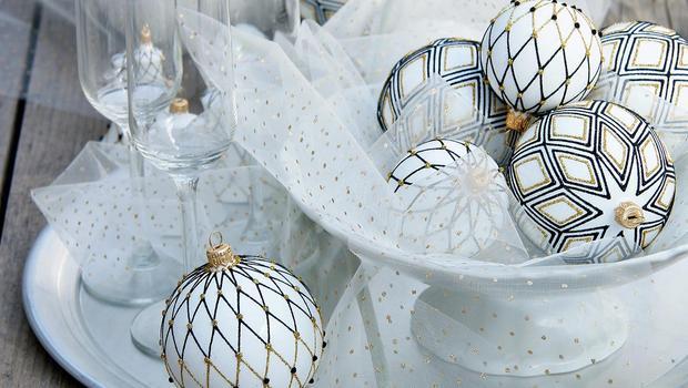 Boules de Noël Glassor
