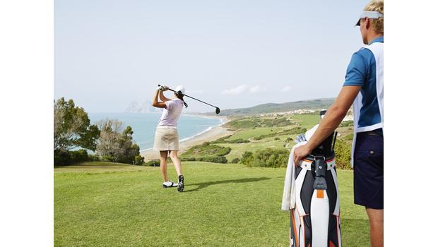 Une journée au golf