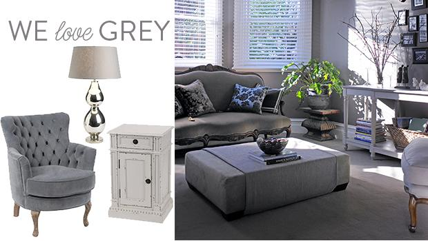 meubles gris décoration plaid coussin
