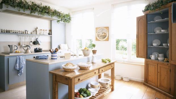 Une cuisine d'herboriste