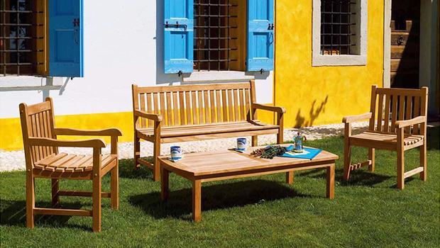 Mobilier outdoor minimaliste