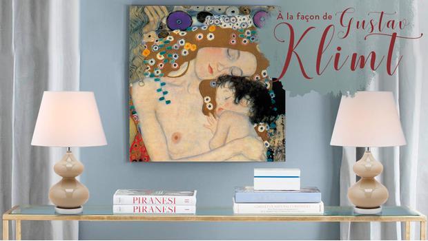 Klimt nous inspire