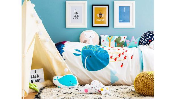 Une chambre d'enfant stylée