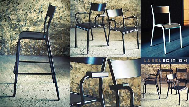 label edition chaises école