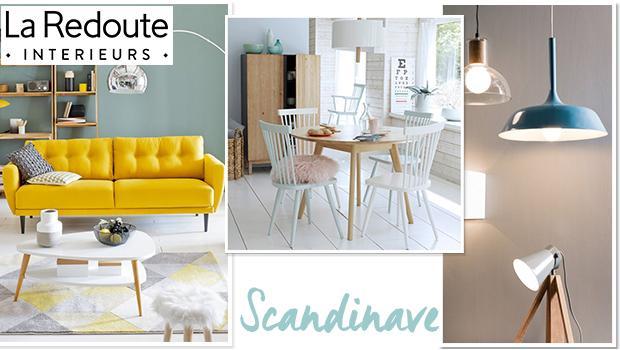 La redoute scandinave mobilier meubles