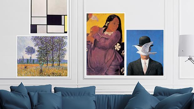 L'art s'invite chez vous