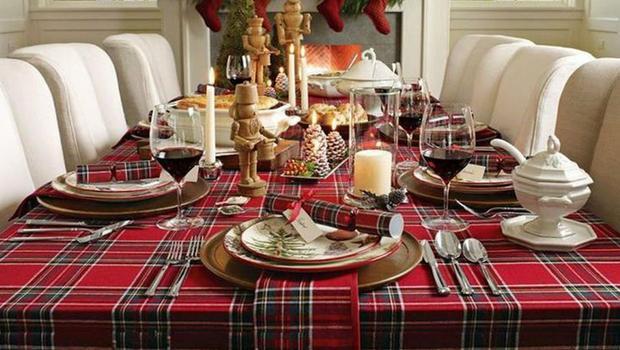 Nappes, toiles cirées de Noël