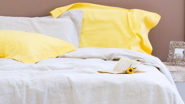linge de lit en lin lav westwing. Black Bedroom Furniture Sets. Home Design Ideas