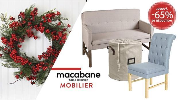 macabane mobilier décoration black friday