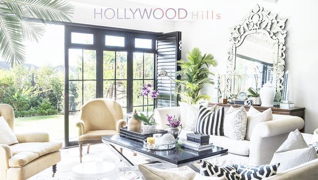 Une villa à Hollywood Hills