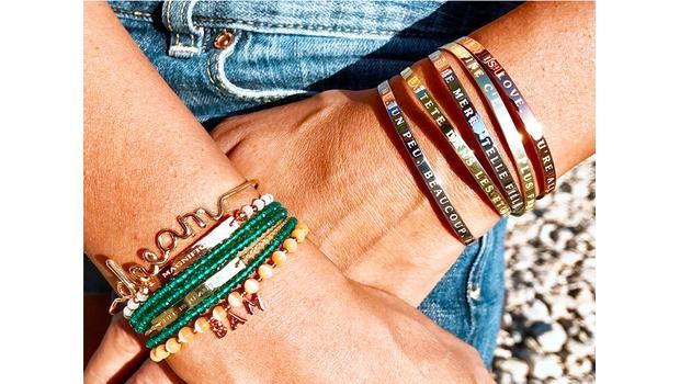 Message sur bijoux - BAM