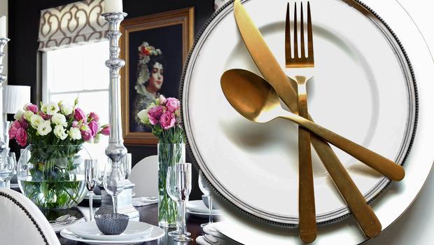 Une table élégante