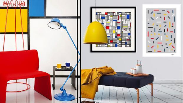 À la façon de Mondrian