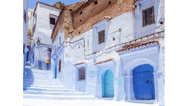Chefchaouen, le paradis bleu