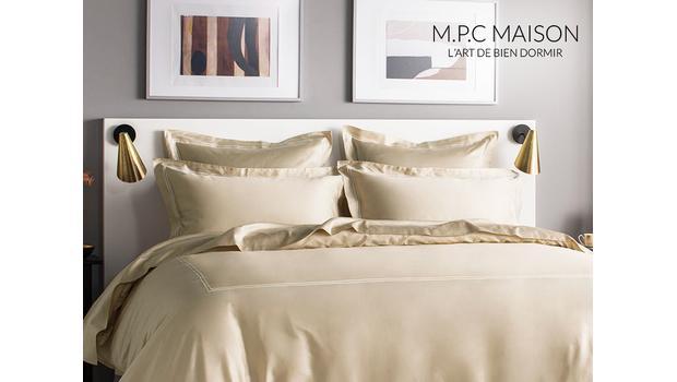 Linge de lit luxueux