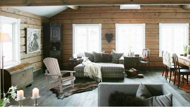 nature mobilier cabane canada décoration