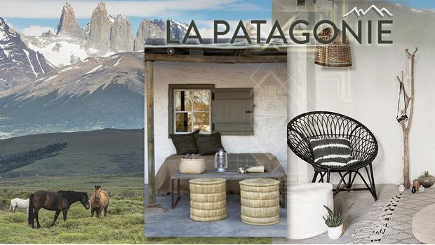 Une déco venue de Patagonie