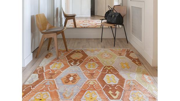 Tapis kilim & coussins