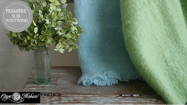 plaid confort mohair laine