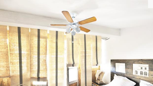 Un ventilateur déco