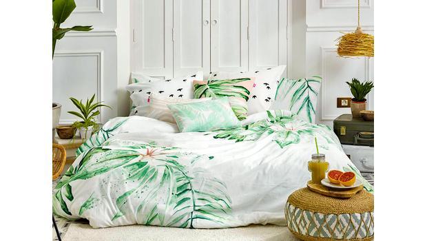 Une chambre aux couleurs d'été