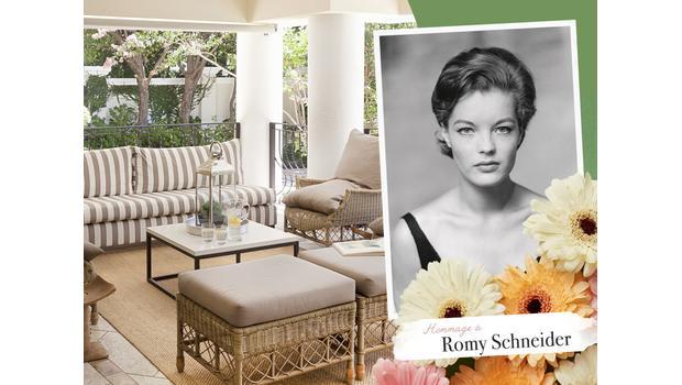 Icône glam' : Romy Schneider
