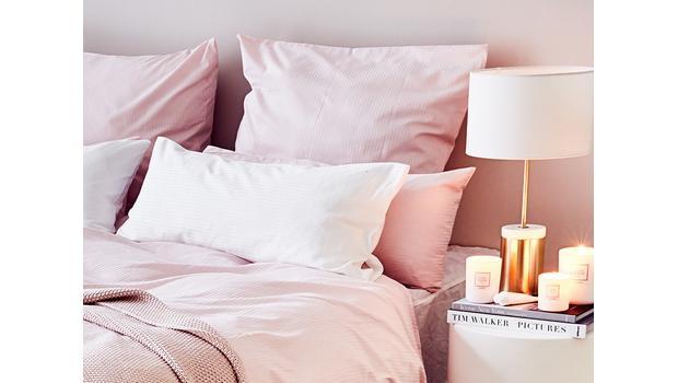 Linge de lit en satin de coton