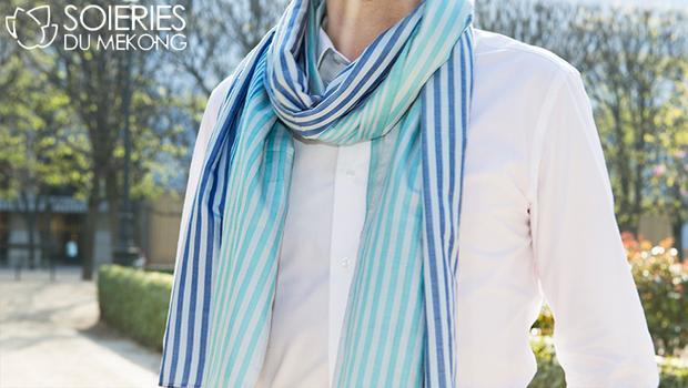 Soieries foulards foulard Foulards ethniques en soie   Westwing c9c4ea8a435
