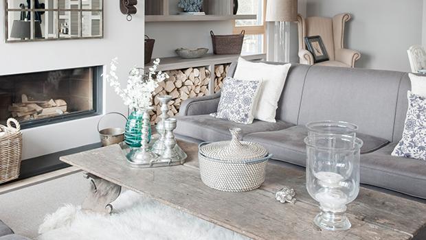 mobilier beige blanc décoration nordique scandi