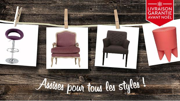 assises chaises