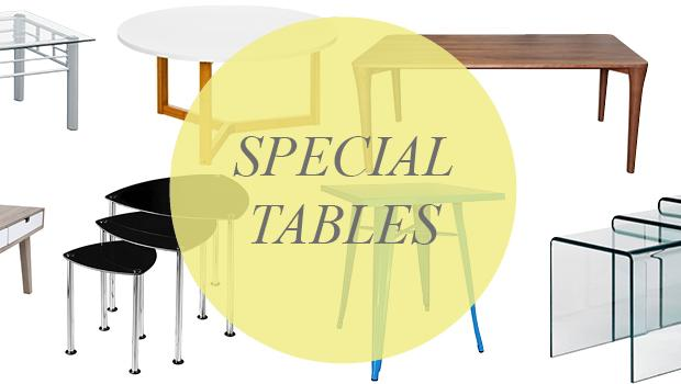 SPECIAL TABLES