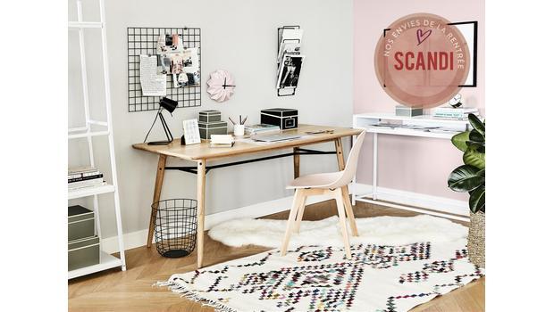Un bureau à la mode scandinave
