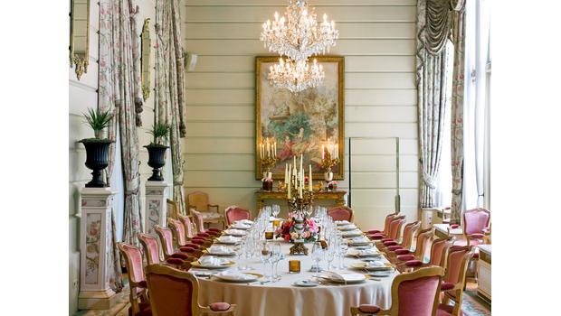 Une table esprit haute couture
