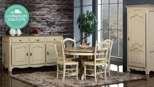 meuble, table, commode