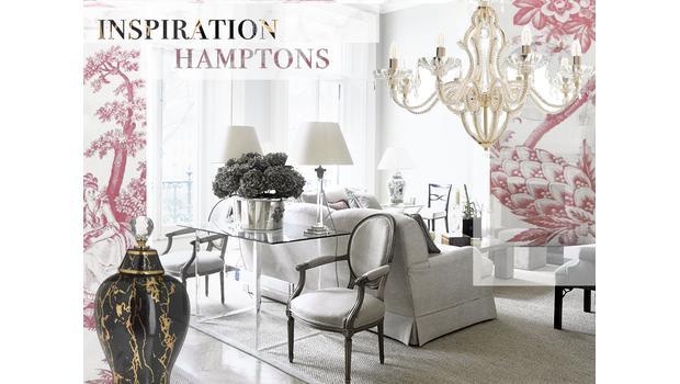 Déco de luxe dans les Hamptons