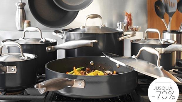 cuisine poêles casseroles