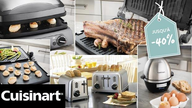 cuisinart electroménager cuisine accessoires toaster