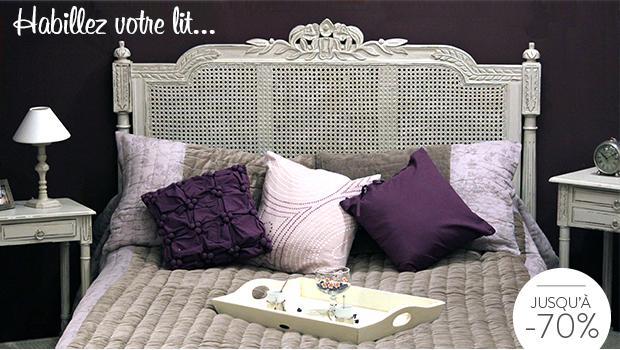 Têtes de lit classiques En bois & velours | Westwing