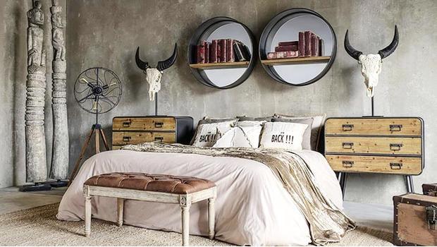 Une chambre éclectique