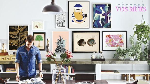 Mix de toiles et affiches