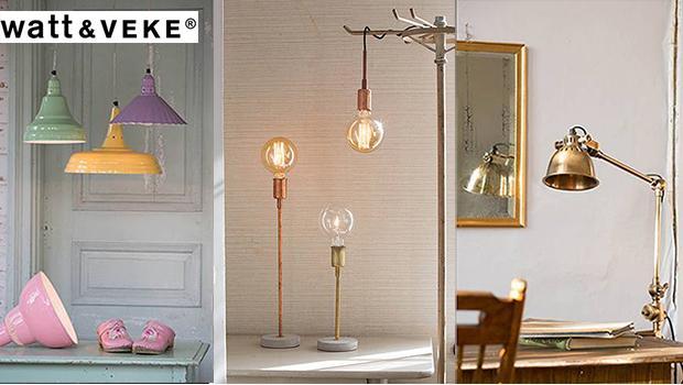 lumière suspension abat-jour watt & veke éclairage décoration lampe
