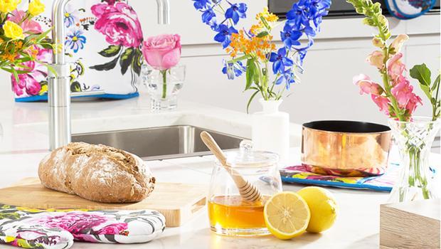 Vaisselle fleurie
