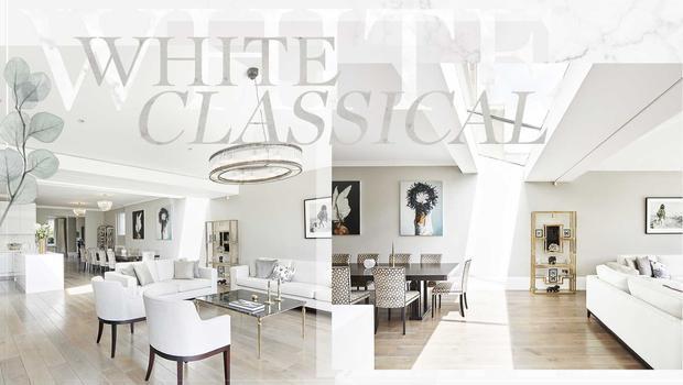 Classique blanc