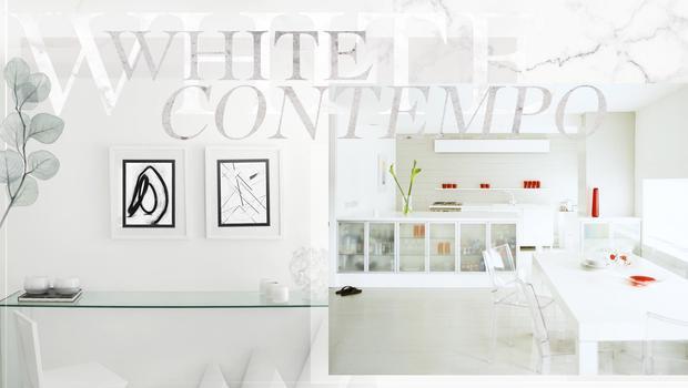 Contemporain blanc