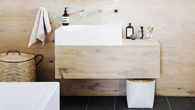 Une salle de bains zen