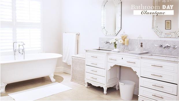 Une salle de bains classique