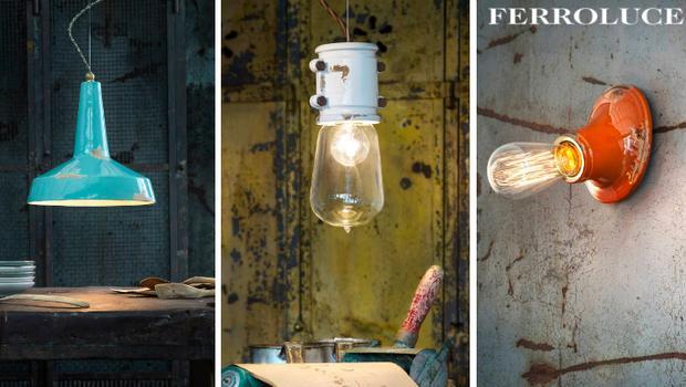Ferroluce luminaires italiens depuis westwing